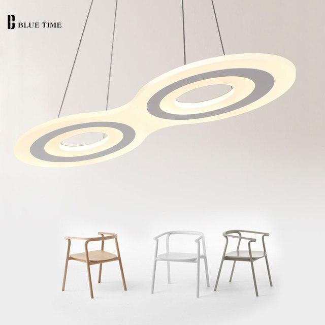 luci led lampadario moderno acrilico cucina illuminazione ... - Illuminazione Soggiorno E Sala Da Pranzo 2