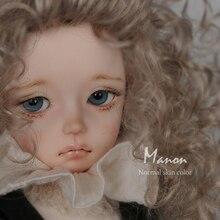 Manon OUENEIFS imda 4.3 bjd muñecas sd soom 1/4 cuerpo modelo reborn niñas ojos juguetes de Alta Calidad tienda de maquillaje resina