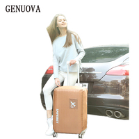 Travel Waterproof Luggage Cover Stretch Protective On The Road Wear Resistant Protective Suitcase Dust Cover For