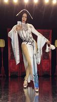 sexy woman chinese style Dress Singer Nightclub Party Dancer Costumes Bling Sexy Costume freeshipping