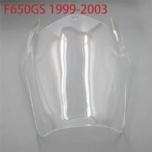 Motorcycle Windshield F650 Smoke 1999 Deflectors Clear BMW for 99-03 GS Protective-Cover