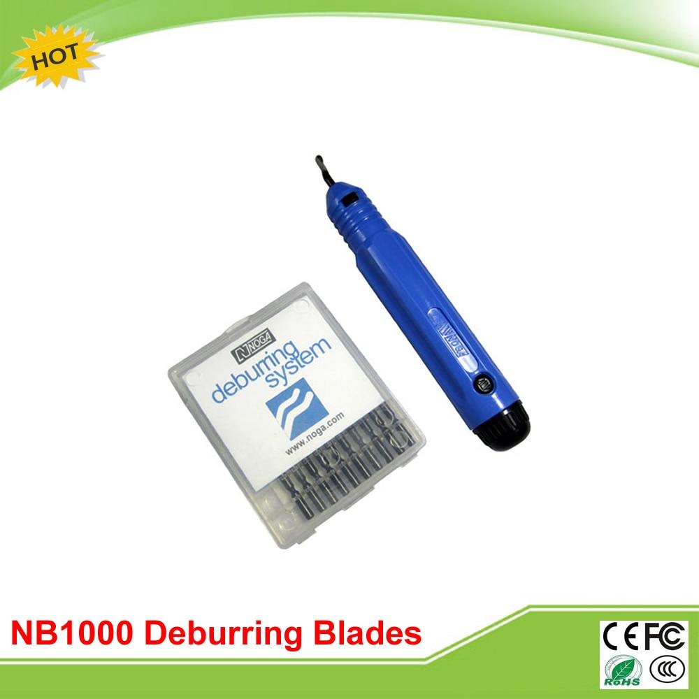 все цены на 10 Pcs NOGA Original BS1010 with 1pcs of NB1000 Deburring Blades Rapid Burr Tool Cutting tools онлайн