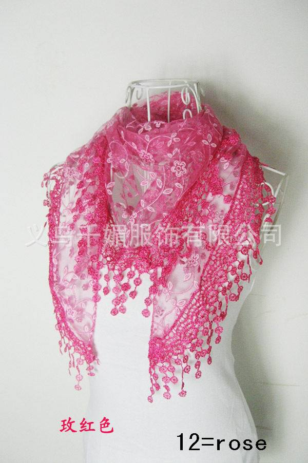 Silk Scarf Shawl Floral Winter Fashion Summer Autumn Spring Men 50cm--140cm 15colors