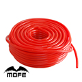 MOFE car styling silicone vacuum pipe 100% Silicone pipe Red  30M 3MM Silicone Vacuum Hose Pipe Tubing samco Logo