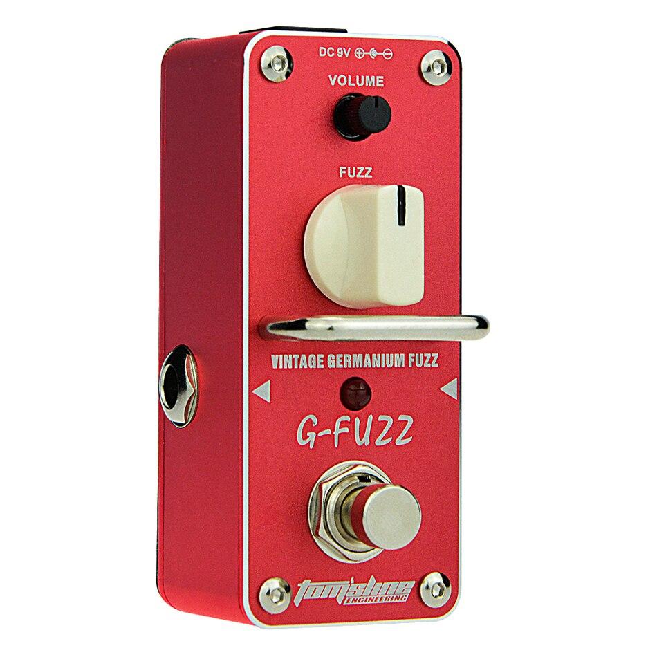 aroma tom sline agf 3 g fuzz vintage germanium fuzz guitarra effect pedal mini analogue guitar. Black Bedroom Furniture Sets. Home Design Ideas