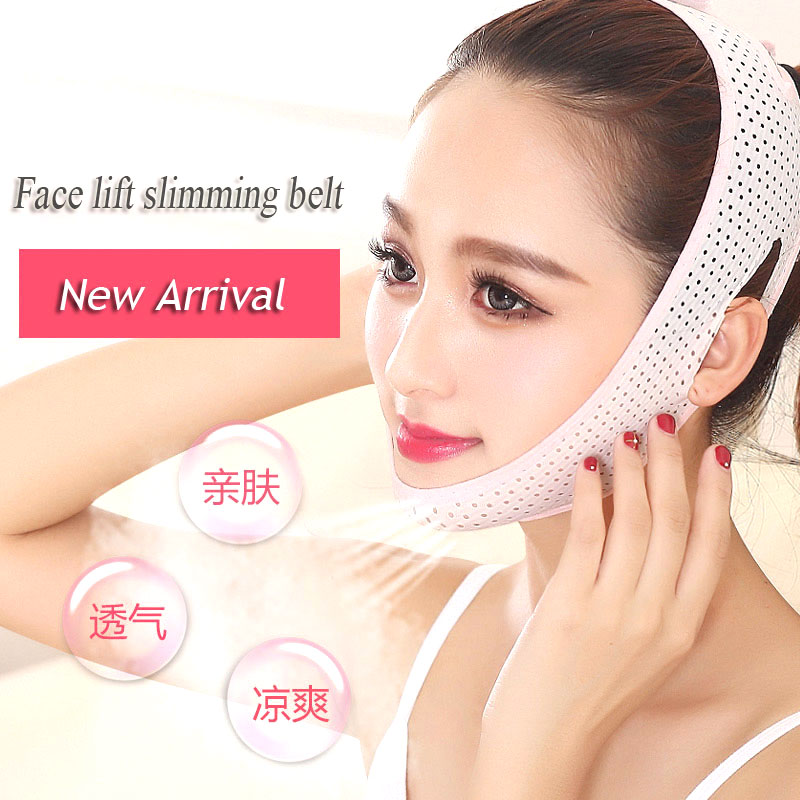 Face Lift Slimming Belt V Face Chin Cheek Lift Up Slimming Slim Mask Bandage Face Lifting Thining Firming Facial Care Tools wholesale fine fashion men women sunglasses 3592554 with leather buckle size 56 18 130 mm
