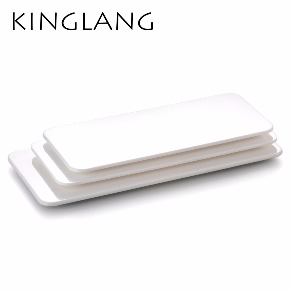 Pure white melamine plain flat sushi plate for japanese restaurant cake display use-in Dishes u0026 Plates from Home u0026 Garden on Aliexpress.com | Alibaba Group  sc 1 st  AliExpress.com & Pure white melamine plain flat sushi plate for japanese restaurant ...