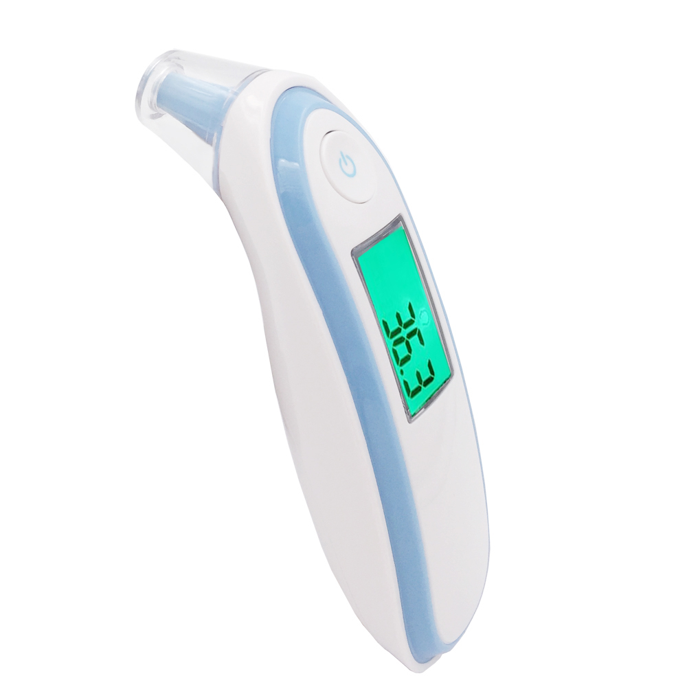 цена на Digital LCD Infrared Thermometers Baby Infrared Thermometer Gun Ear Forehead Body Temperature Measurement Diagnostic-tool Device