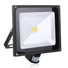 50W 4500LM LED Sensor Flood Light IP65 AC 85-265V Proyector Refletor Led Floodlight projecteur Led spotlight outdoor lighting
