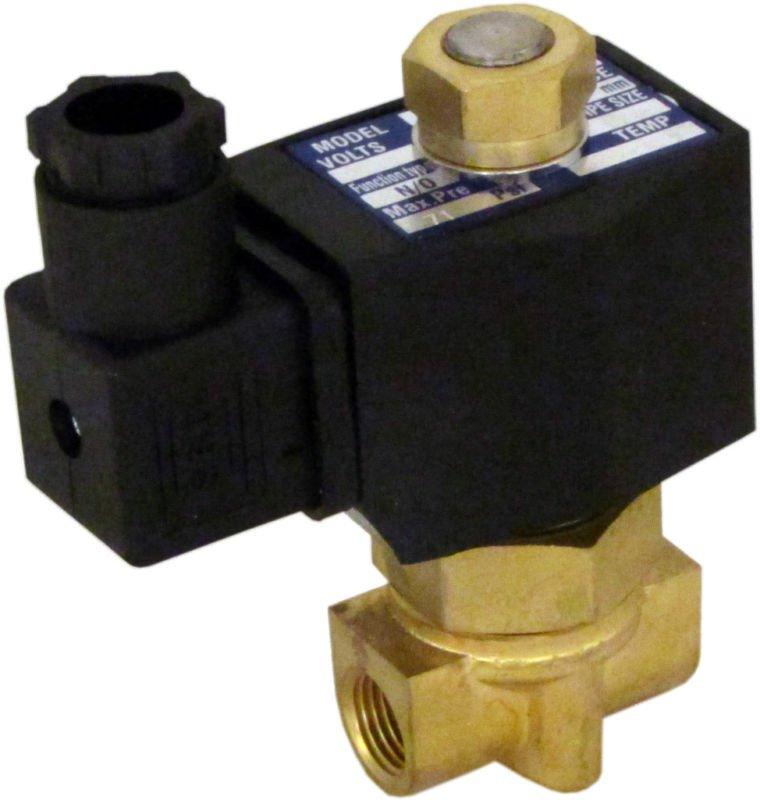 """5 шт. ckd DIN разъем катушки 24 В DC 1/"""" электромагнитный Клапан для железнодорожного Вода Воздух трубопровода"""