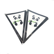10PCS PANDA THEME BANNER KIDS BIRTHDAY PARTY SUPPLIES PAPER HAPPY FAVORS BABY SHOWER