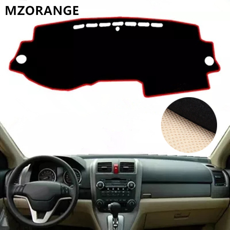 MZORANGE FOR HONDA CRV CR-V 2007 2008 2009 2010 2011 LHD DASHBOARD COVER DASHMAT DASH MAT PAD SUN SHADE DASH BOARD COVER CARPET накладки на пороги honda cr v ii 2001 2007 carbon