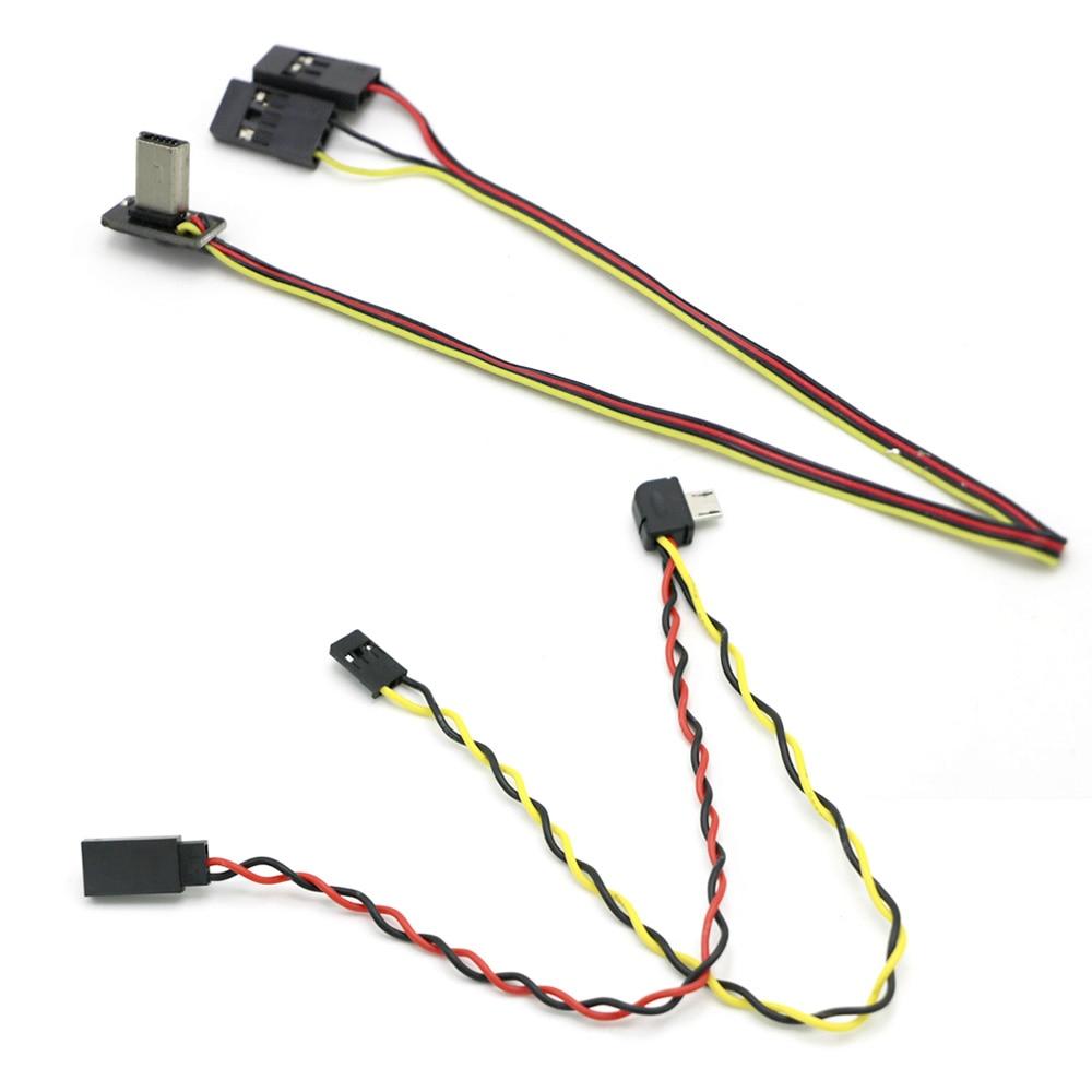 Micro USB To AV Out Cable For SJ4000 SJ5000 SJ6000 GOPRO Camera FPV Video Audio Transmitter Cable AV