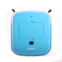 MOBOT Slim Robot Vacuum Cleaner With Drop Sensing Designed With Low Profile For Wood Floor