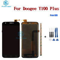5 5 For DOOGEE Y100 Plus LCD Display And Touch Screen Screen Digitizer Assembly Repla Cement