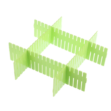 1Pc DIY Grid Drawer Divider Household Necessities Storage Organizer DIY Accessory Plastic Drawer Clapboard