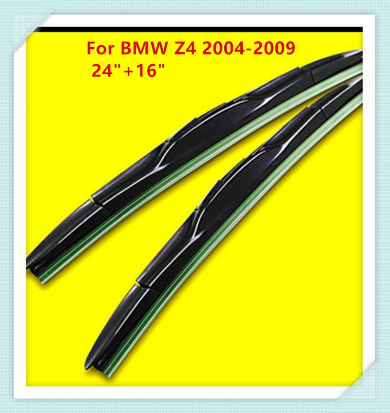 Escobilla del limpiaparabrisas de goma de 3 secciones para BMW Z4 - Accesorios de interior de coche