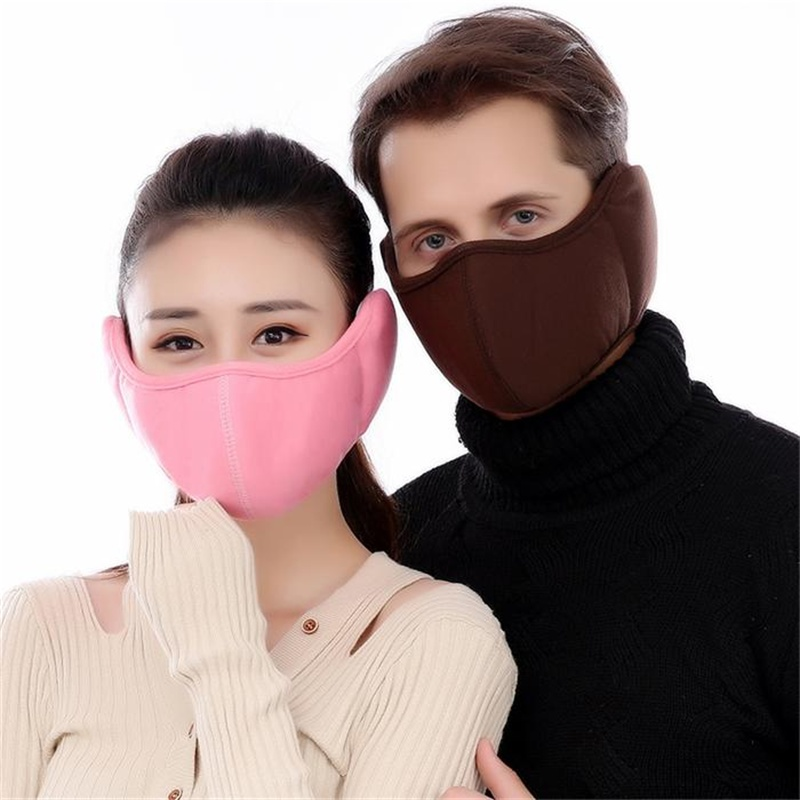 Hot Women's Winter Cotton Warm Mask Fashion Windproof Dustproof  New Type Masks All-Pack Ear Mask