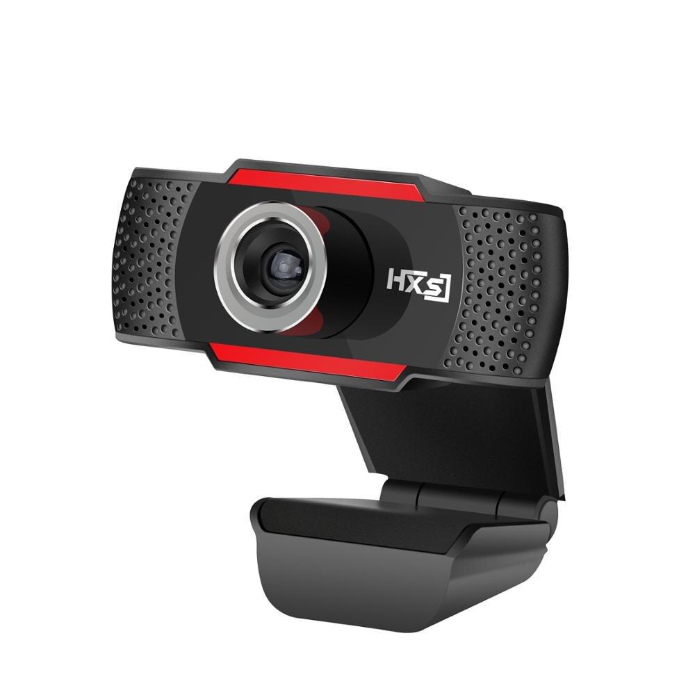 Hongsund 1280*720 720 p di Alta Qualità HD USB Webcam Nero PC Web Cam per il Computer Portatile Desktop Tv Webcam