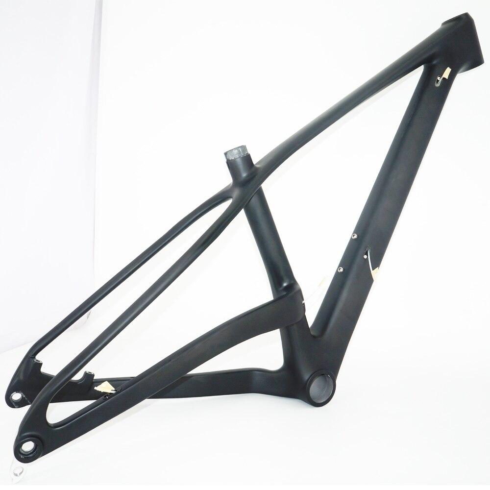 Toray 800 Carbon Fiber MTB 27.5er Frame New Thru-axle Carbon Fiber 650B Plus Frame 27.5er+carbon Frame Booster