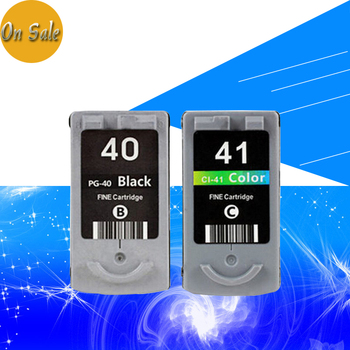 Hisaint PG-40 CL-41 cartucho de tinta para CANON PG40 CL41 para PIXMA iP1700 iP1880 iP2200 MP145 MP150 MP160 MP170 MP198 impresora