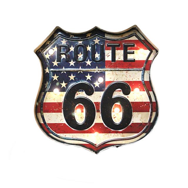 Décors lumineux Vintage / Las Vegas / Route 66