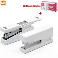 Original Xiaomi Mijia Kaco LEMO Stapler 24/6 26/6 with 100pcs Staples for Paper Binding Business School Office Use Smart Remote Control