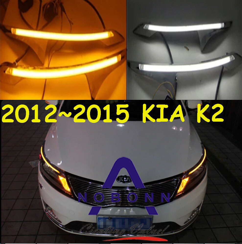K2 daytime light,2012~2014;Free ship!LED,K2 fog light,2ps/set,Sorento,cerato,k3,k5,K2 2012 2015 d50 daytime light jazz free ship led d50 fog light 2ps set teana sylphy r50