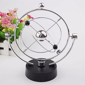 Figuritas en miniatura, Bola de equilibrio de metal pendulo de newton, modelo...
