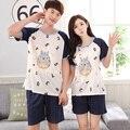 2017-Пары Номер & Тоторо шаблон с коротким пижамы XXL