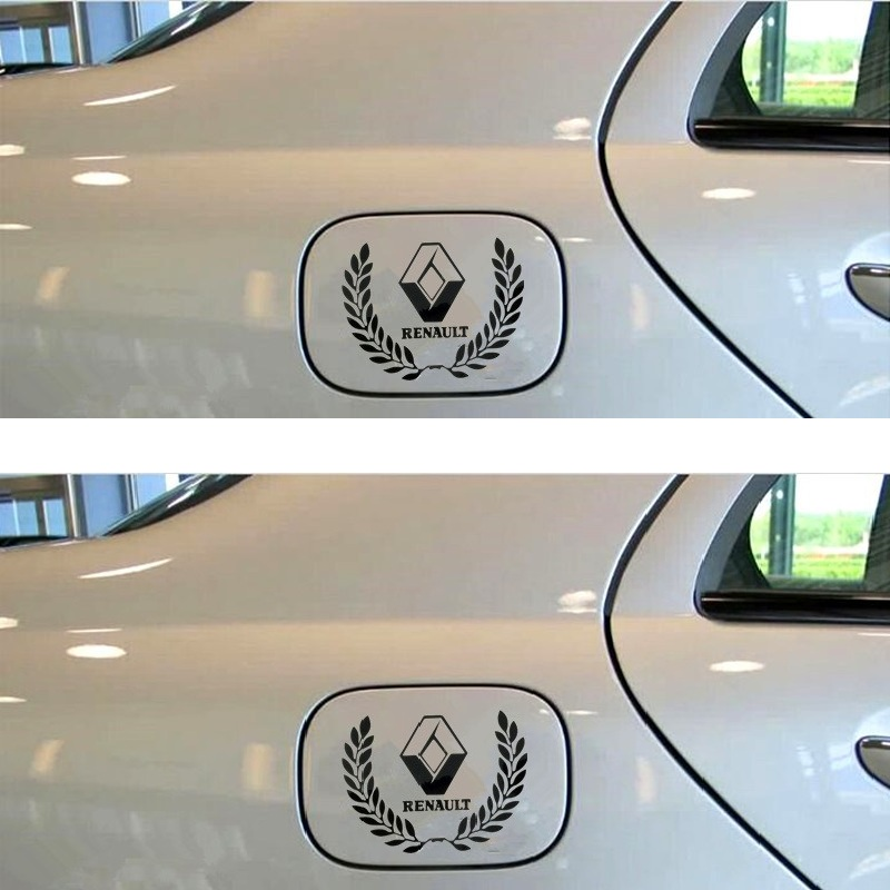 Customization Sport  Stickers Decal Car-Styling For renault duster megane 2 logan clio laguna 2 scenic sandero fuel cap