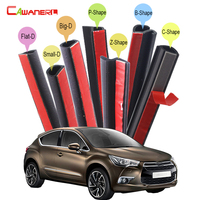 Whole Car Rubber Sealing Seal Strip Kit Weatherstrip Noise Control Seal Edge Trim Self Adhesive For