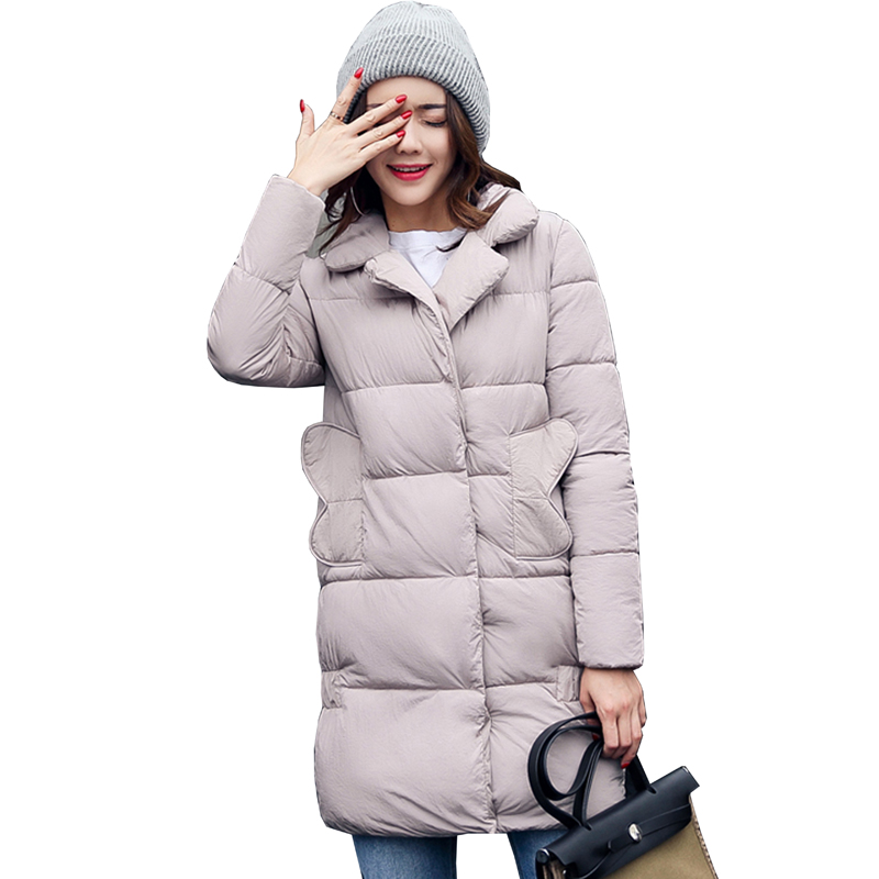 high quality Fashion Winter Jacket Women Slim Female Coat Thicken Parka Cotton Plus size Clothing Hooded Long Outerwear 5L13 2017 middle aged winter jacket women thicken warm cotton padded slim plus size 6xl winter coat women parka high quality