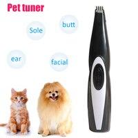 Триммер для волос для собак Уход за собакой USB Перезаряжаемый профессиональный триммер для домашних животных для собак кошек кусачки для ше...