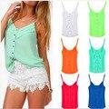 Casual Crop Top S-XXXL Plus Size Camisetas Chiffon T Shirt Fashion Summer Style Tropical Women Tops Tee Women Blusas Femininas
