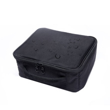 Double-layered Ladies Waterproof Cosmetic Bag Travel Fashion Portable Washing Storage