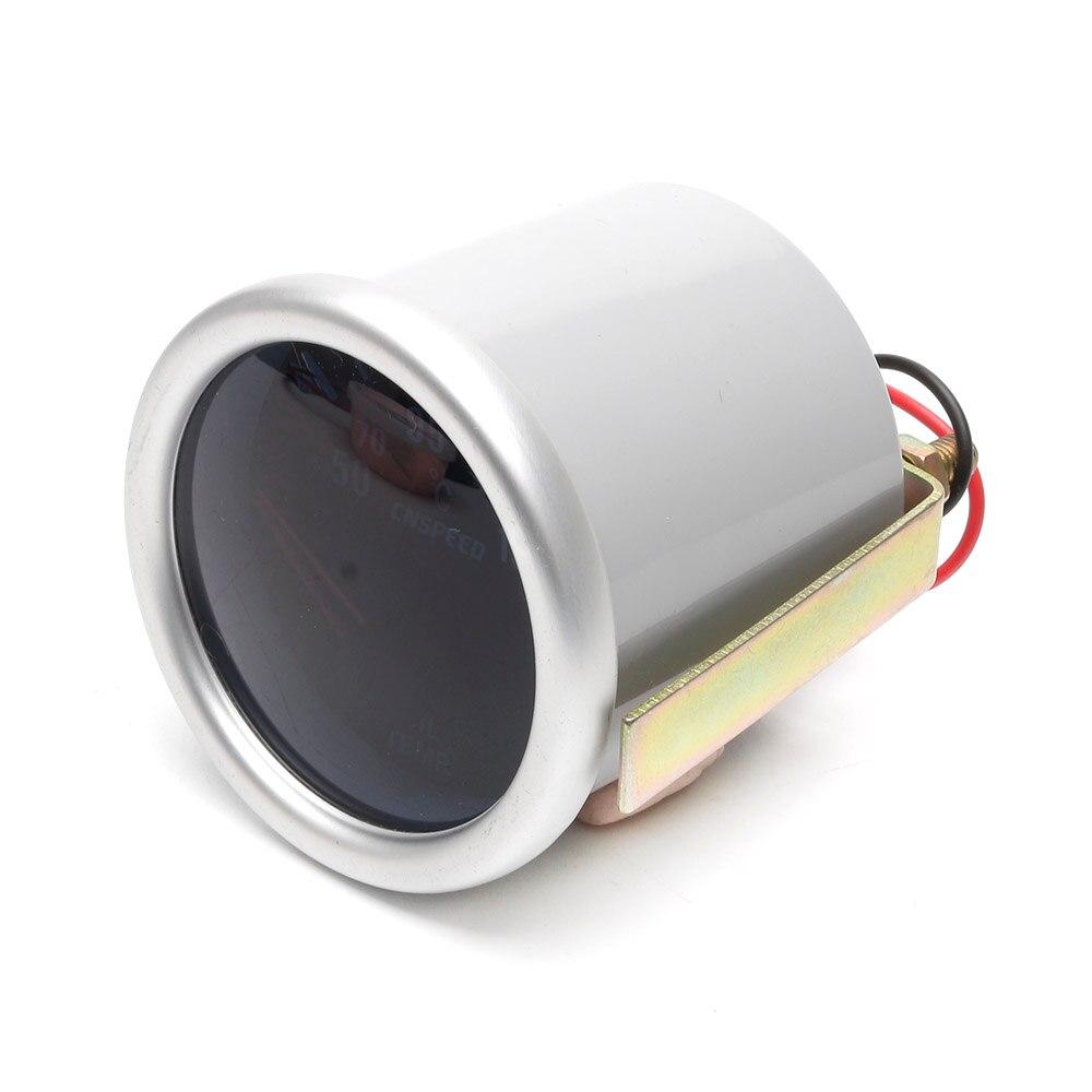 """CNSPEED Автомобильный датчик температуры масла 50~ 150 C """" 52 мм Универсальный Белый светодиодный цифровой датчик температуры масла 12 В с датчиком"""