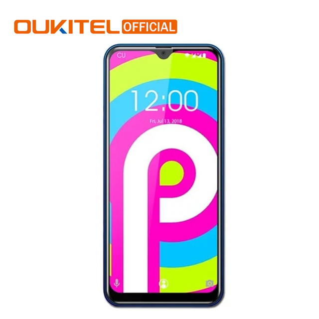 "OUKITEL C15 Pro 6.088"" 19:9 2GB 16GB Android 9.0 Mobile Phone MT6761 Quad-Core 2.0GHz 4G LTE Smartphone Fingerprint 2.4G/5G WiFi"