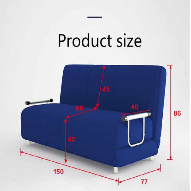 Incredible Louis Fashion Modern Large Sized Apartment Folding Sofa Bed 1 5 Meters 1 2 Simple Double Fabric Tatami Lounger Download Free Architecture Designs Momecebritishbridgeorg