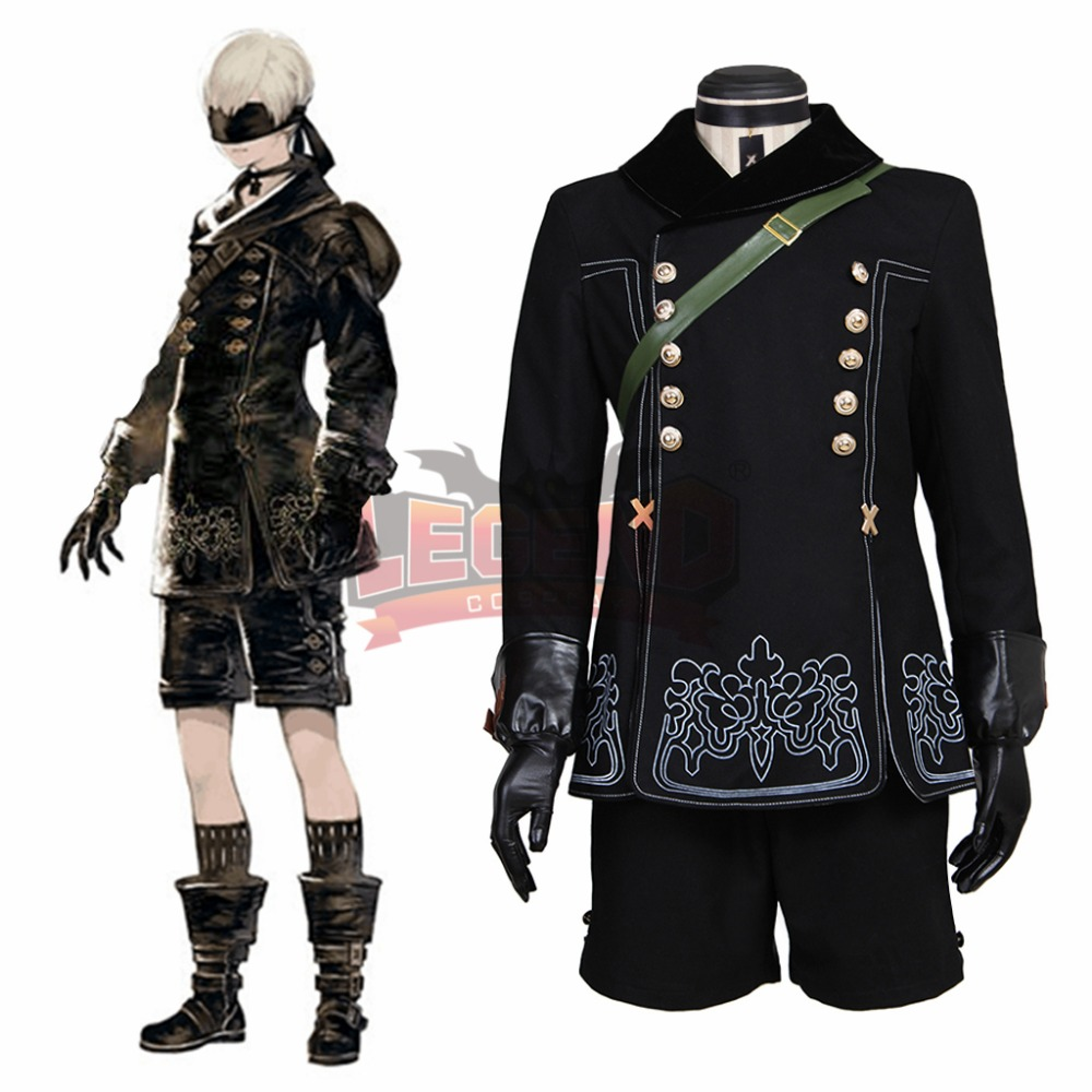 nier automatas NieR:Automata 9S cosplay costume new adult costume full set in stock
