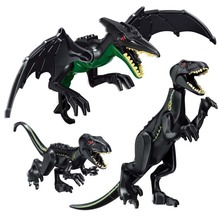 Jurassic World 2 Park Dinosaurs Tyrannosaurs Rex Carnotaurus Indoraptor Building Blocks Figures Toys Compatible With Legoings