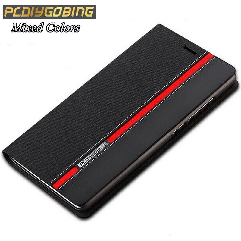 De luxe portefeuille sac stand fente pour carte Téléphone de couverture Mixte couleurs TOP PYTHORE étui En Cuir Pour Elephone P9000 P8000 P7000 M2
