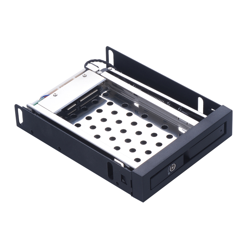 Uneatop ST2510 2.5in sata caddy aluminum hard drive 2TB hot swap enclosure 2.5 hdd mobile rack for floppy bay hdd 9.5mm 2 5 sata ii hdd 2 bay internal mobile rack enclosure max 2tb