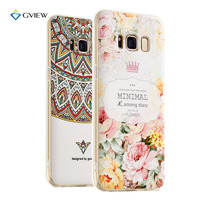 Super 3D Relief Printing Clear Soft TPU Case For ZTE Nubia Z11 Max Phone Back Cover