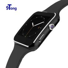 """2016ใหม่บลูทูธsmart watch x6 s mart w atchนาฬิกาสปอร์ต1.54 """"โค้งหน้าจอนาฬิกาสนับสนุนกล้องfmซิมการ์ดpk huawei watch a4"""