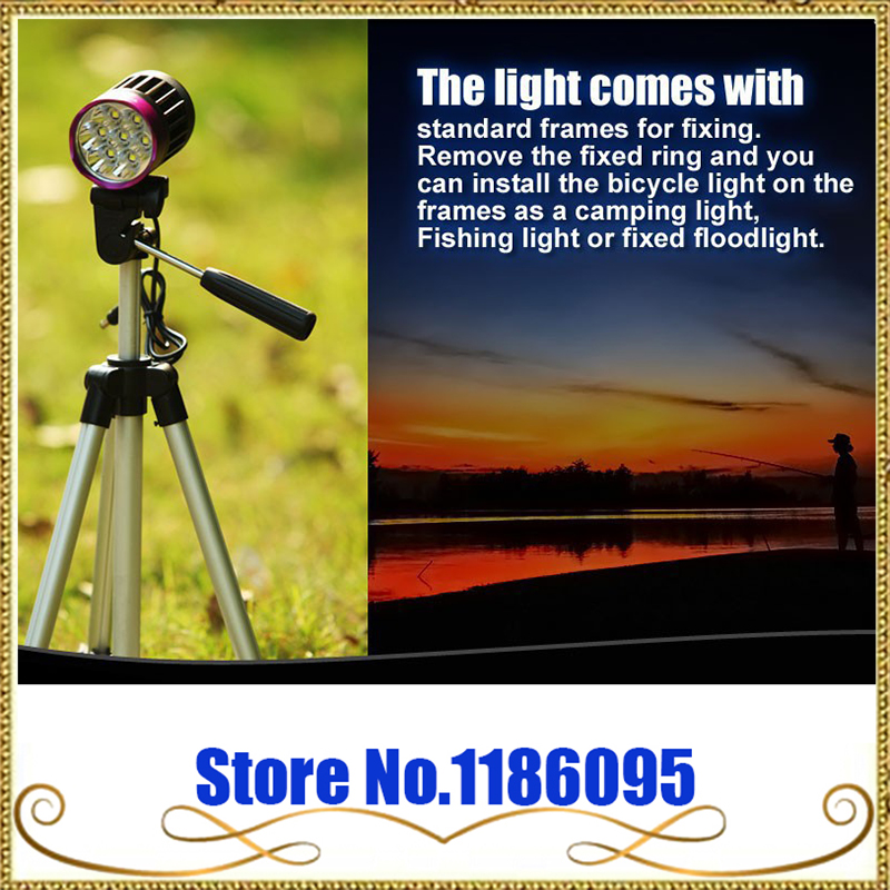 TrustFire TR-D014 Waterproof 3200LM 7*CREE XM-L2 LED Bicycle Lamp Bike Light 4-Mode with 6000mAh 18650 Battery Pack flashlight trustfire d002 2xcree xm l2 1000lm 4 mode led bicycle light led torch lamp with 4 18650 battery pack and charger