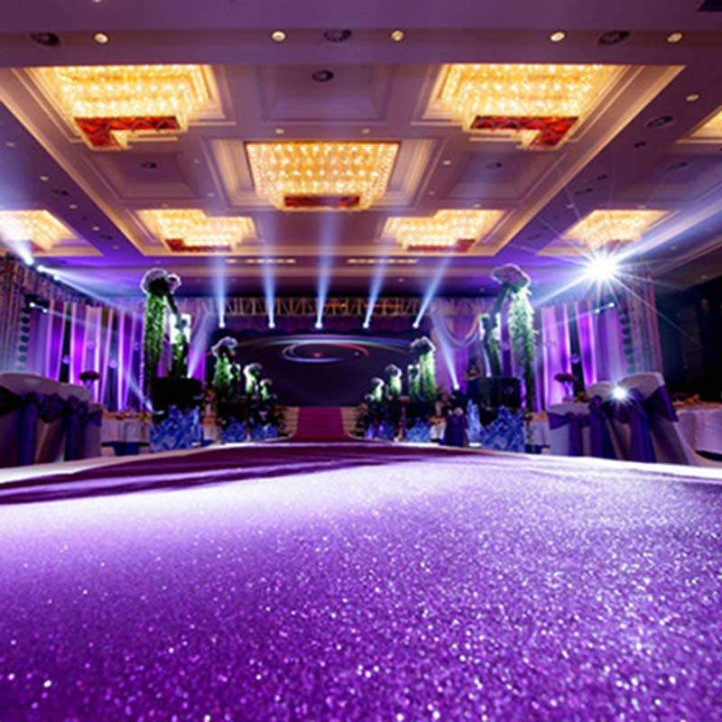 wedding party glitter carpets decoration mariage shiny nonwoven rug aisle runner 1mx10m gold purple white 10colors - Aliexpress Decoration Mariage