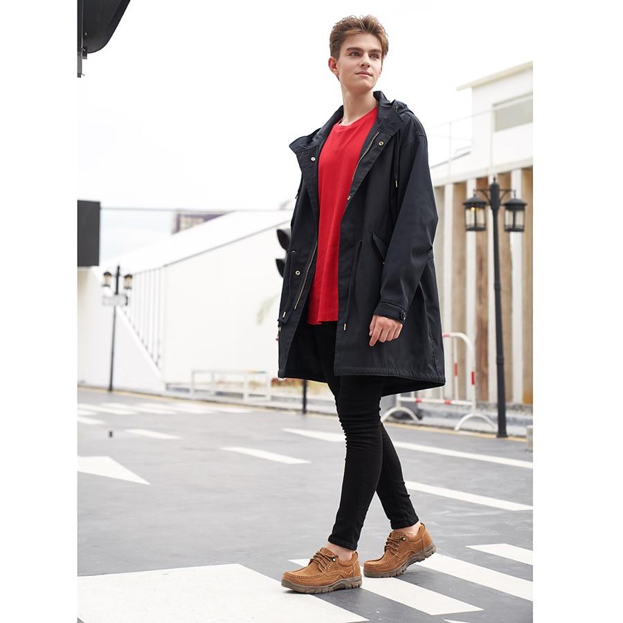 CAMEL ของแท้หนังผู้ชายรองเท้าสบายๆนุ่มสบาย Cowhide กลางแจ้งสีดำ Retro ชายรองเท้า mocassin-ใน รองเท้าลำลองของผู้ชาย จาก รองเท้า บน   2