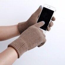 1 PAIR winter gloves women guantes guantes mujer handschoenen gants femme handschoenen winter luvas de inverno SEG0004