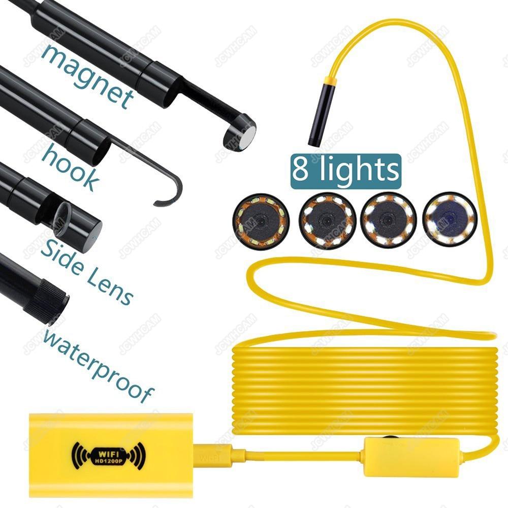 Wireless Endoscopie WiFi HD 1200P 2M 3.5M 5M 10M Mini Camera Camera - Camera și fotografia - Fotografie 1
